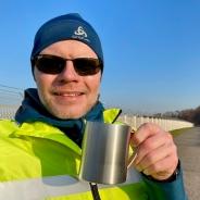 Teepause an der Startbahn Nordwest - derzeit ohne Fluglärm. (Foto: S. Herold)