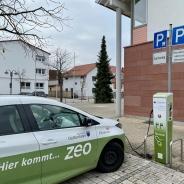 Auf der Tour eher die Ausnahme als Alltag: E-Mobilität in Dettenheim. (Foto: S. Herold)